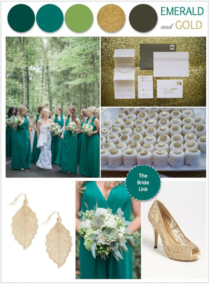 Свадьба - Emerald Wedding Ideas