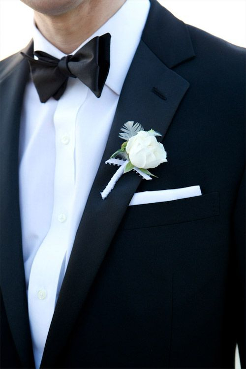 Свадьба - Creative And Classic Groom's Boutonniere Ideas
