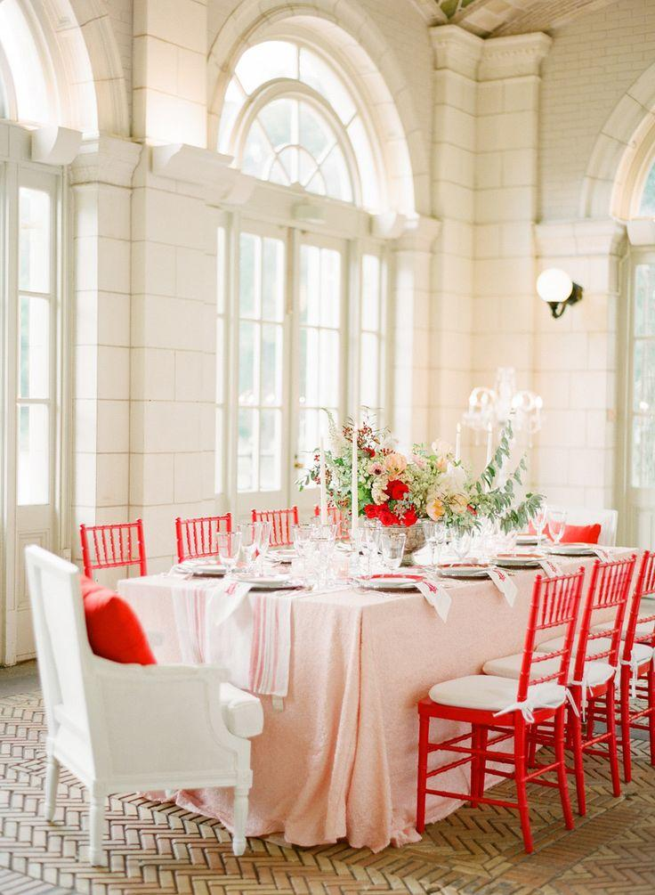Свадьба - Romantic Red Wedding Inspiration