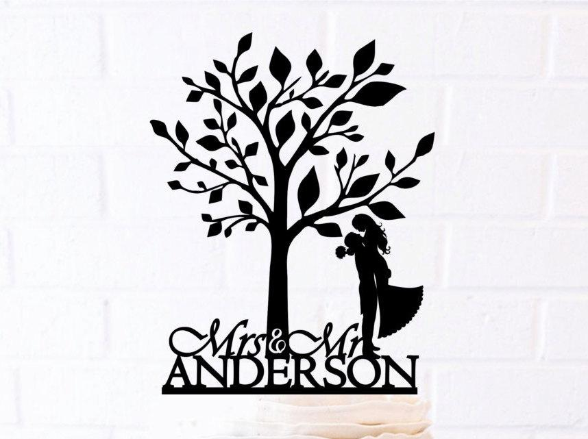Family Tree Cake Toppers