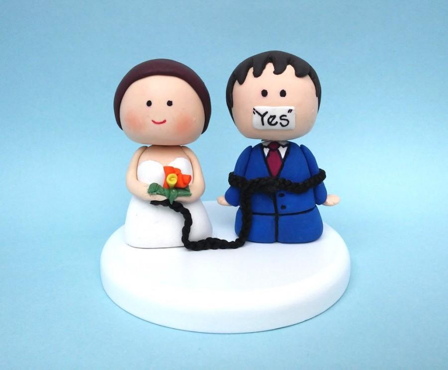 Wedding Cake Topper Custom Hair