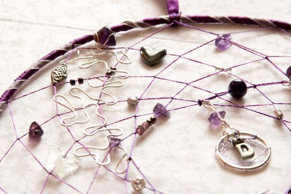 8 Dreamcatcher Crystals And Beads Your Colour Theme CUSTOM ORDER OOAK Perfect Wedding Christening Birthday Gift