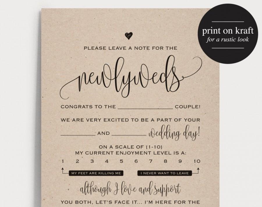 Wedding mad libs template pink wedding libs printable guest card.