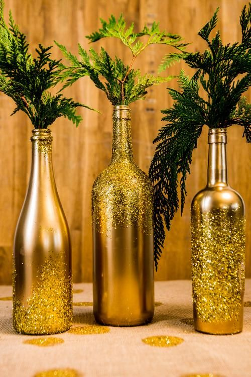 Wedding - Fast And Easy Glittering Decorations