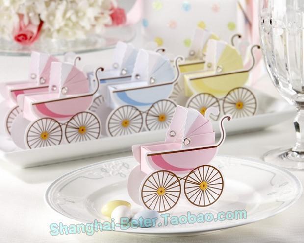 Свадьба - 創意糖果袋 歐式喜糖盒TH030滿月酒情人節派對 寶寶生日喜糖盒
