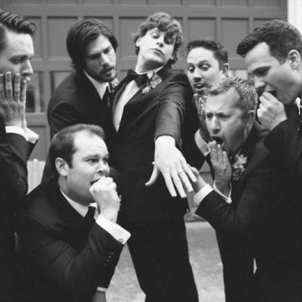 Свадьба - Hilarious Groomsmen Photos