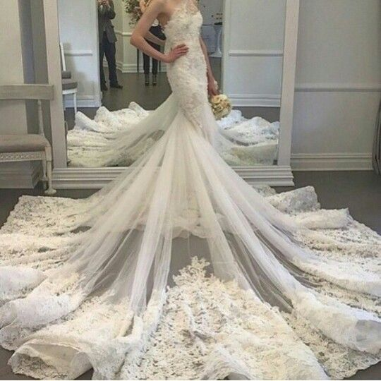 Vintage Special Mermaid Wedding Dresses One Shoulder Unique Bridal Dress Custom