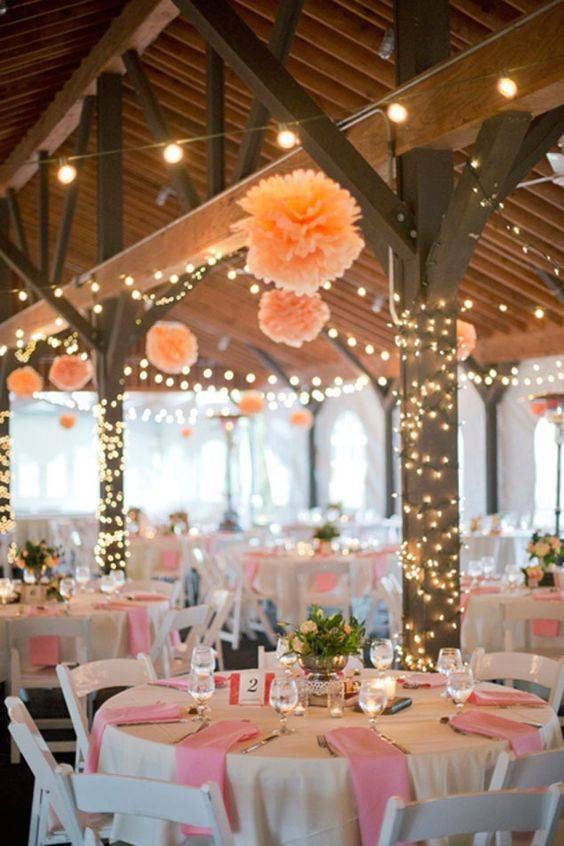 Mariage - 40 Romantic And Whimsical Wedding Lighting Ideas