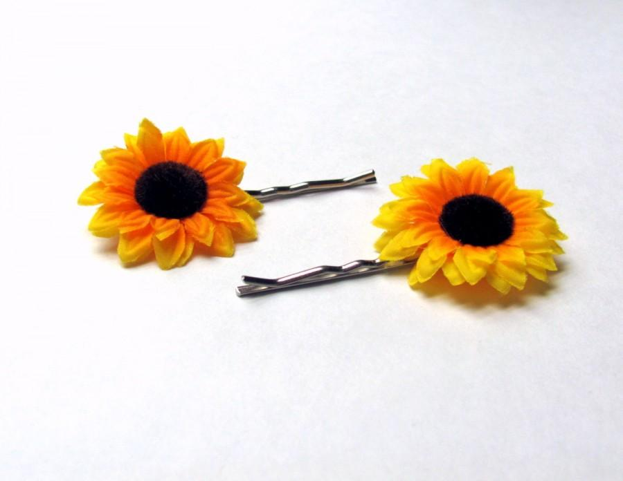 Mini sunflower bobby pins small sunflower hair clips yellow hair mini sunflower bobby pins small sunflower hair clips yellow hair flowers sun flower hair accessories sunflower wedding flower girl hair mightylinksfo