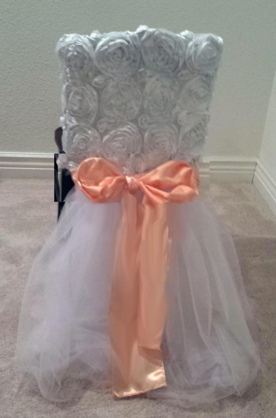 Mariage - Chair Tutu Skirts