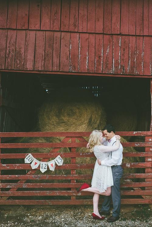 Свадьба - Valentine theme foe engagement shoot