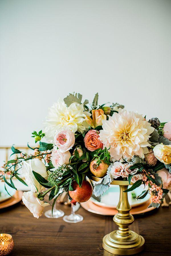 Wedding - Rose-Gold Romance: A Creative Collaboration Between Minted And Aisle Society