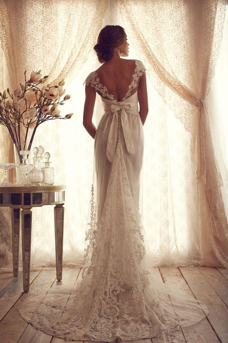 Mariage - Designer: Anna Campbell  @  Wedding-Day-Bliss