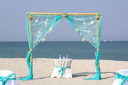 Свадьба - Sea Stars -  Beach Wedding Package Florida
