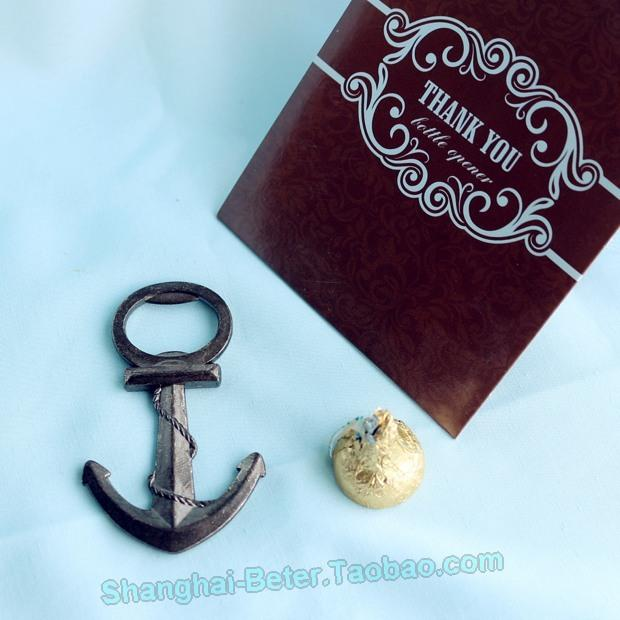 Wedding - Beach Party Nautical Bottle Opener Wedding Gift ; Wedding Party Favors BETER-HH030