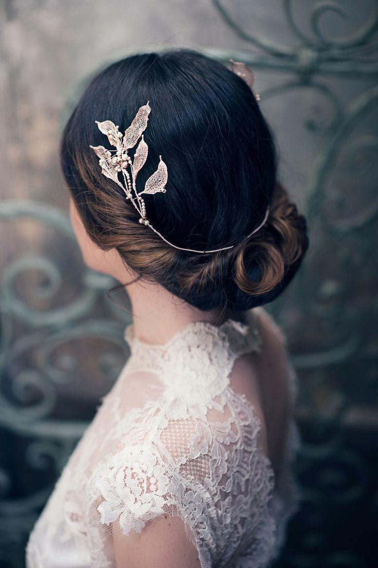 Hochzeit - Nature's Diadem By Cherished – An Ethereal New Collection Of Bridal Accessories