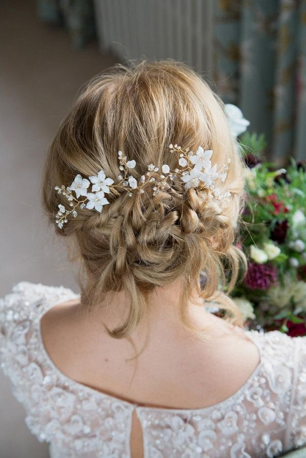 Mariage - Bridal Hair Flower Hairpin