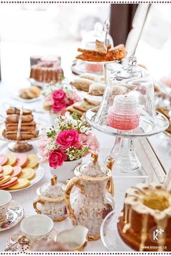 Hochzeit - 15 Tea Time Ideas That Will Make You Feel Classy