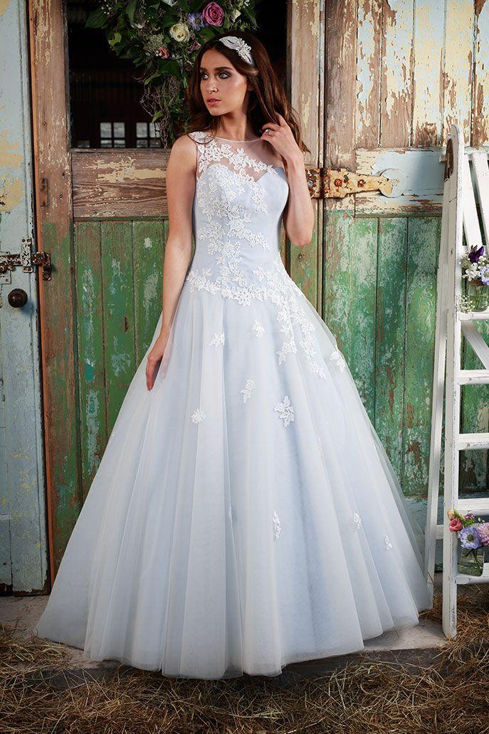 زفاف - Tulle Ball Bridal FGown