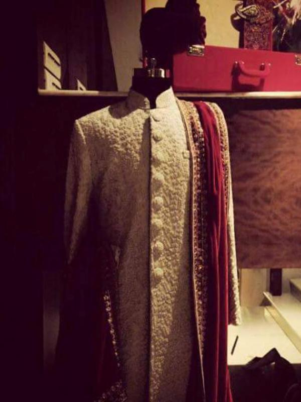 Wedding - A Typical Sherwani with Exceptional Finish