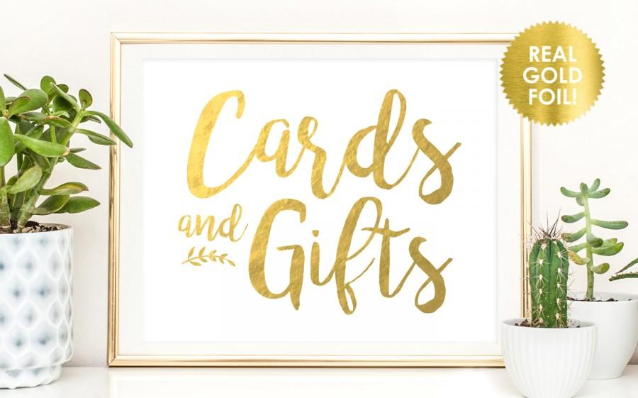 Cards And Gifts Peony Theme Wedding Signs In Real Gold Or Silver