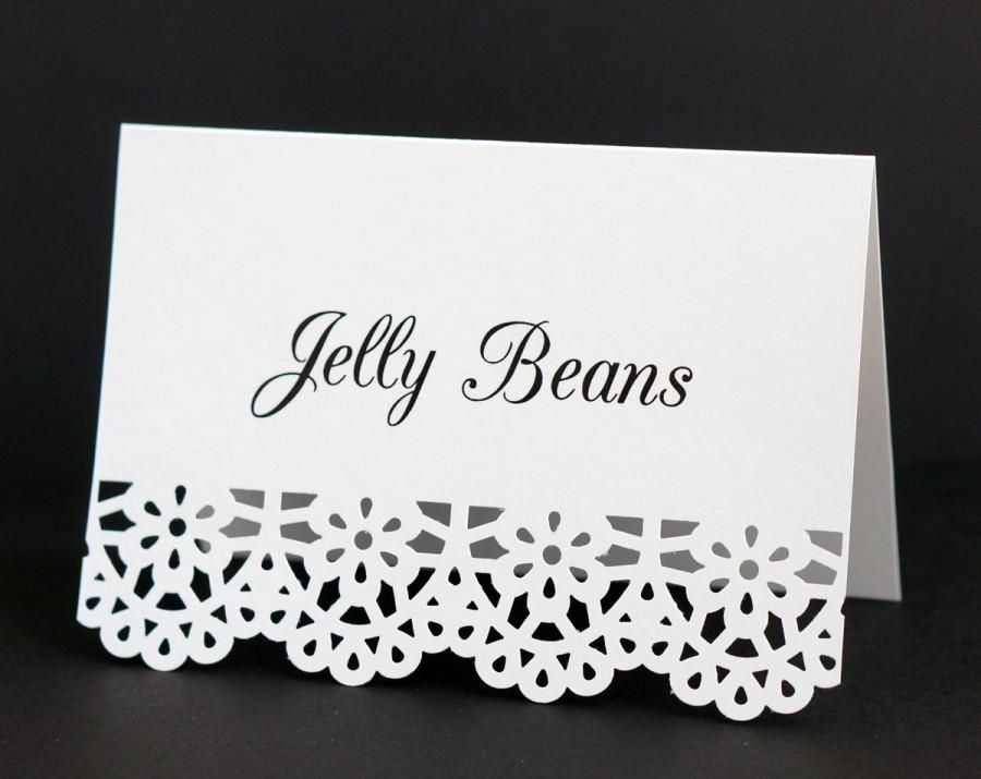 food labels food place cards white catering food signs wedding candy buffet tent cards custom printed bridal shower dessert table