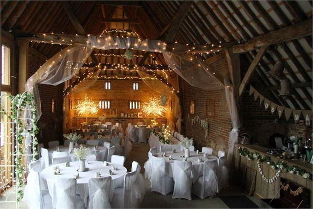 Свадьба - Personally Decorate The Barn How You Would Like To, The Thatch Barn - Inspiration Gallery Wedding Venue Image
