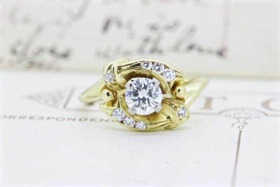 زفاف - Diamond Halo Engagement Ring