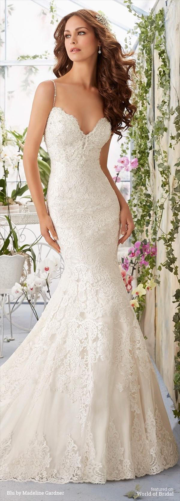 Mariage - Blu by Madeline Gardner Spring 2016 Wedding Dresses