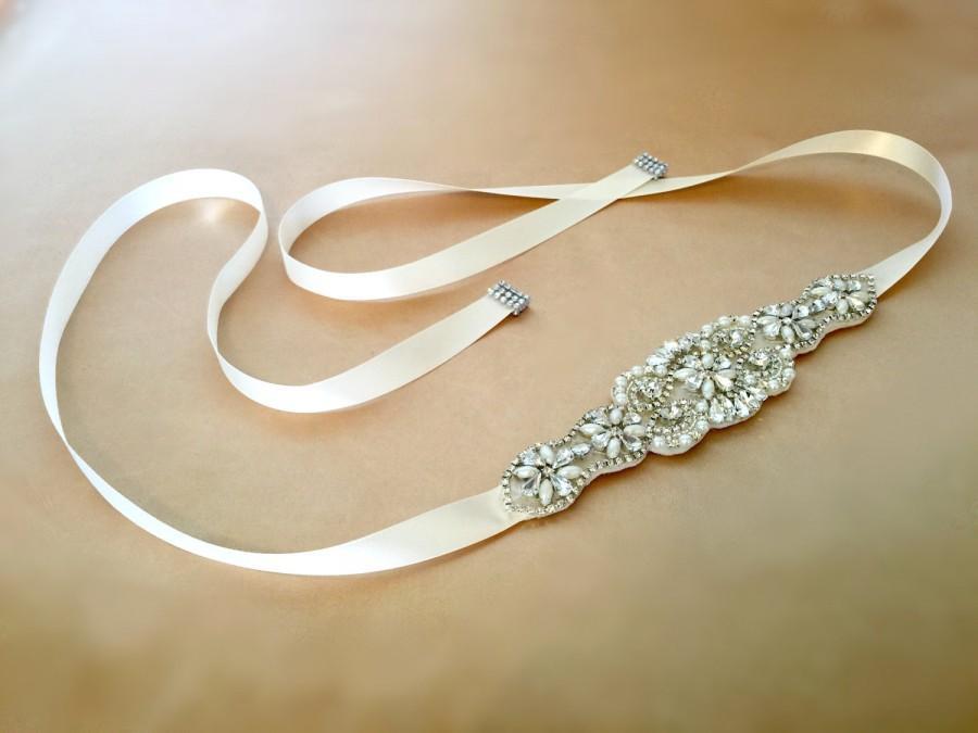 Свадьба - Rhinestone Bridal Headpiece, Crystal Hair Tiara, Bridal Headband, Wedding Headband, Wedding Hair Tiara, Prom Headband