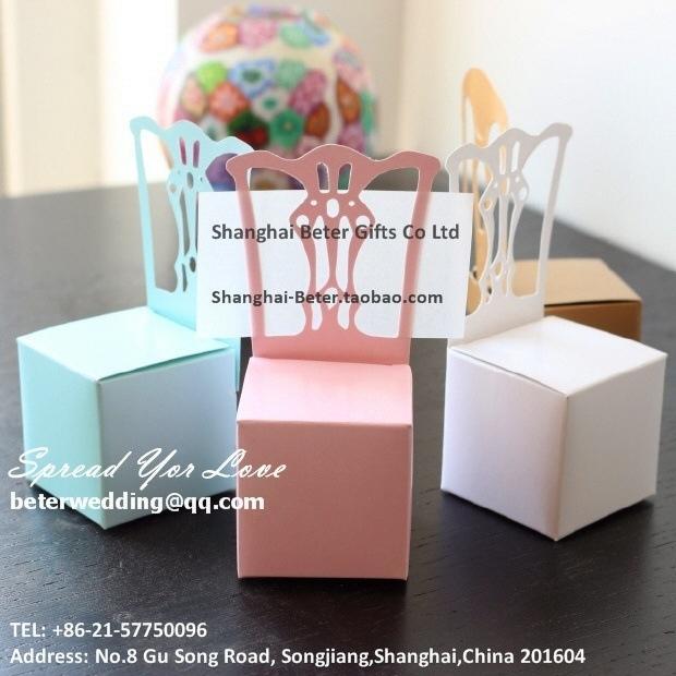 Свадьба - Aqua blue Candy Box Wedding Decor party Favor bag BETER-TH005