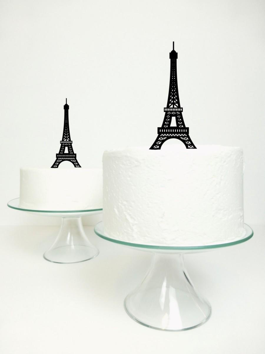 Свадьба - Eiffel Tower Cake Topper