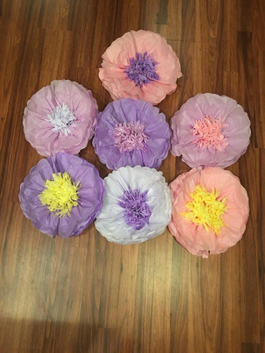 Wedding - Tissue Paper Flowers