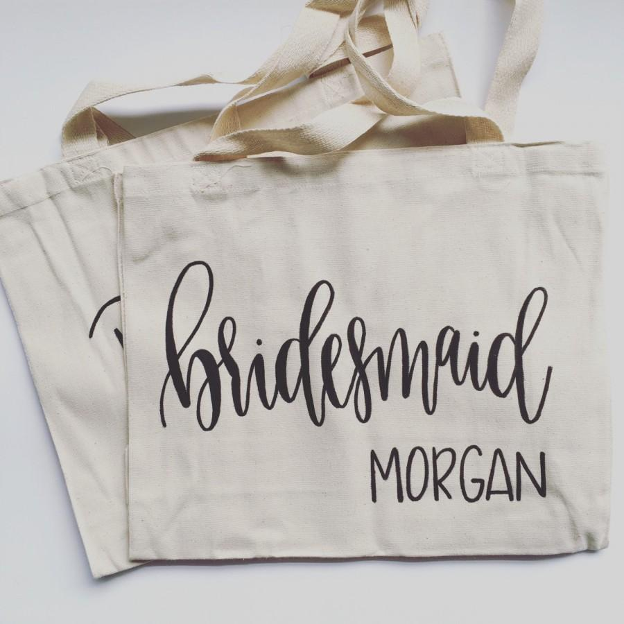 Свадьба - Bridesmaid Tote