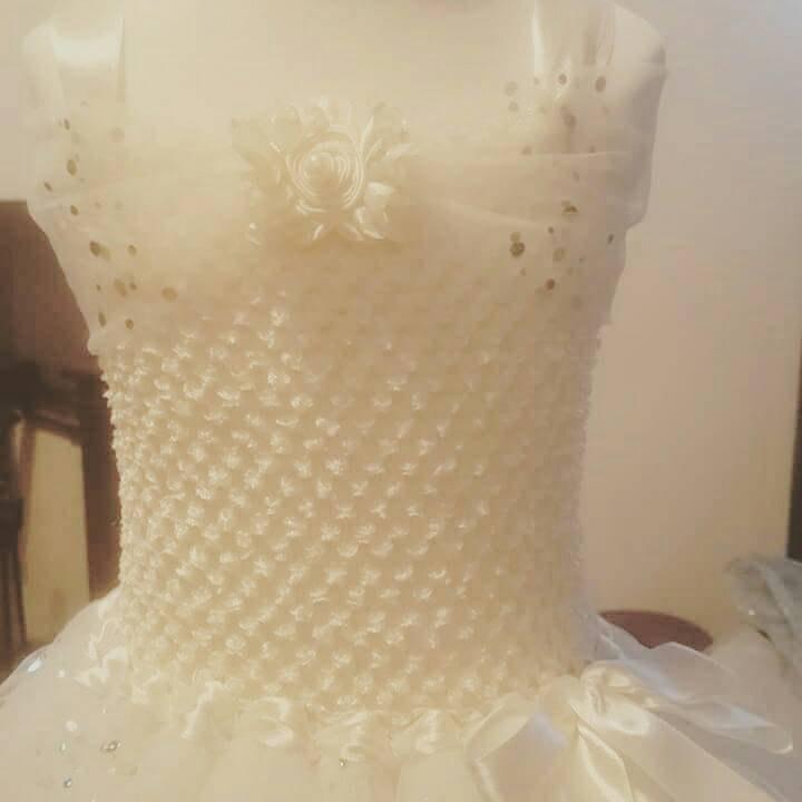 زفاف - A Stunning Flower Girl Tutu Dress, Bridesmaid Tutu Dress To Compliment The Most Exclusive Weddings