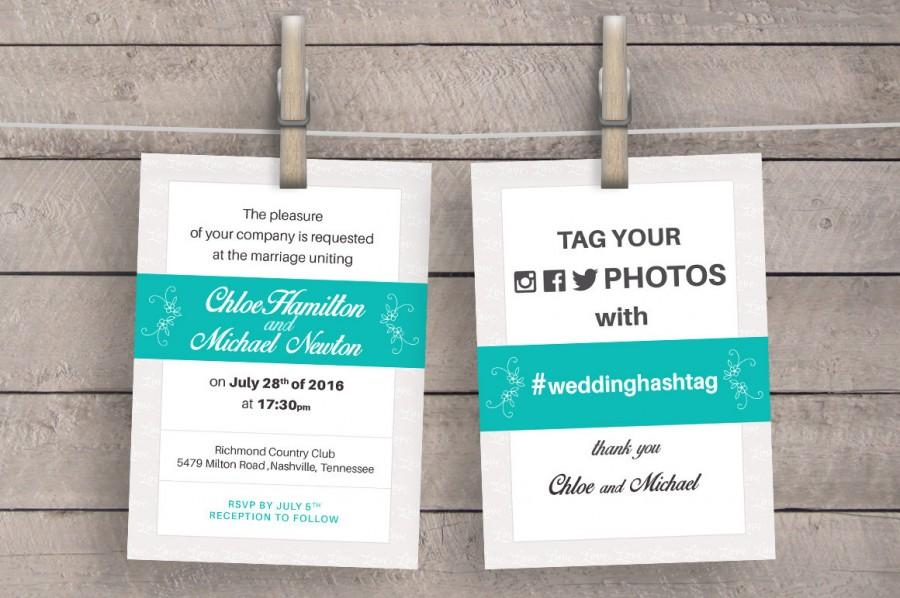Wedding - Wedding Invitation Set