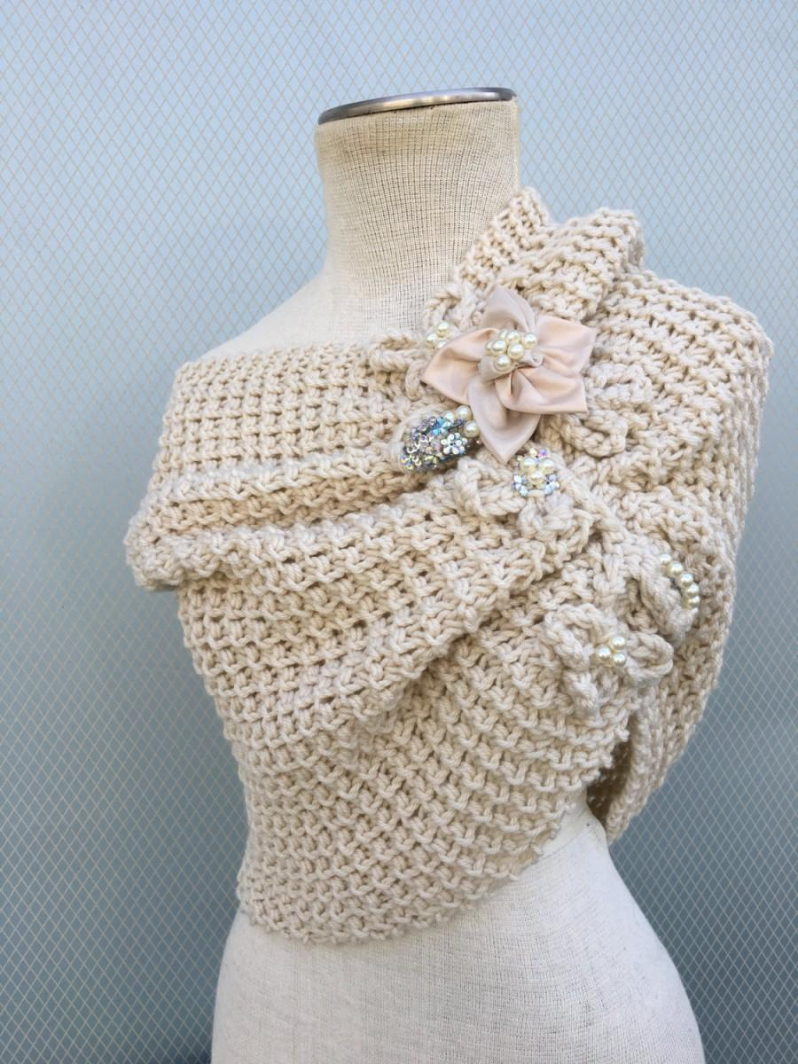 Bridal Shawl Bolero Bridal Shrug Wedding Shrug Bridal
