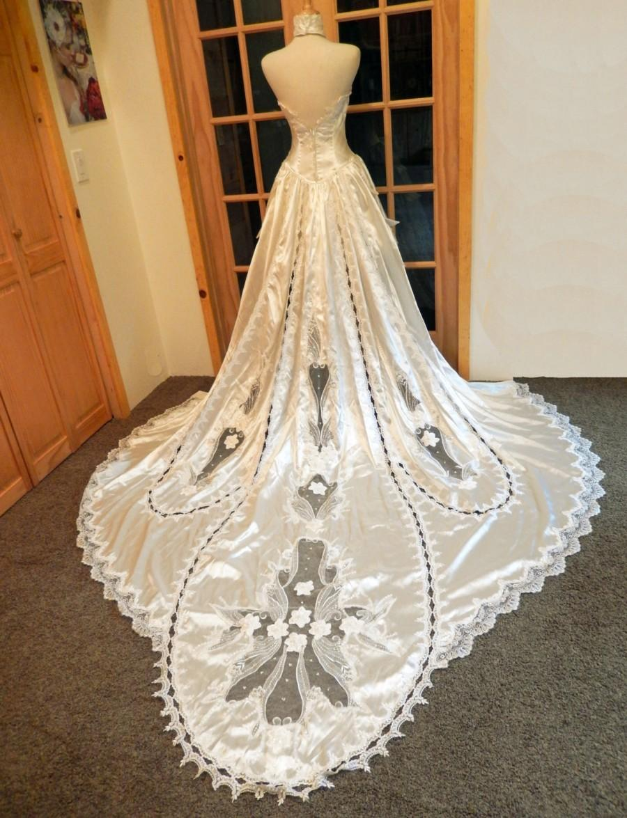 Marie Antoinette Couture-Non Traditional Bride-Custom Handmade OOAK ...