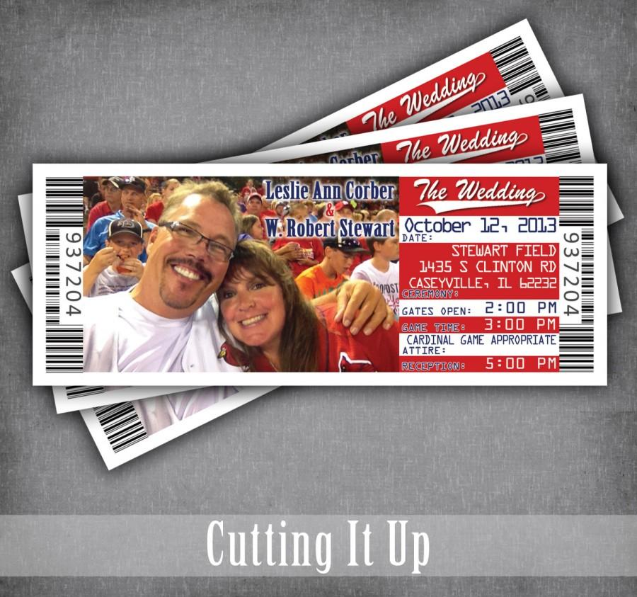 Baseball Wedding Invitations, Baseball Wedding, Sport Wedding ...