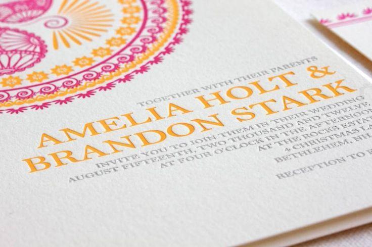 Hochzeit - Wedding Invitation