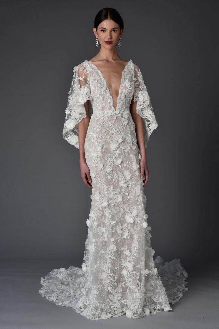 Hochzeit - Marchesa Bridal Spring 2017