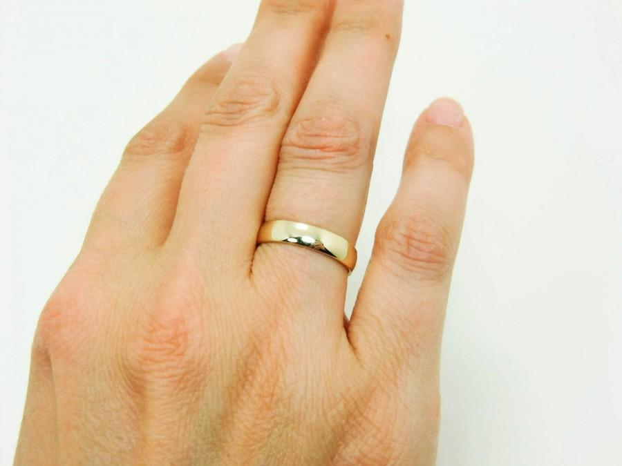 mens wedding rings gold on hand wwwimgkidcom the