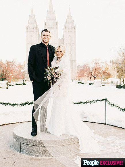 زفاف - Dancing With The Stars' Witney Carson Weds High School Sweetheart Carson McAllister – Get The Exclusive Details