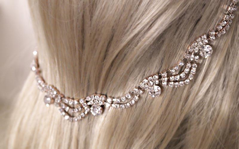 Rose Gold Bridal Headband 594050c2fa3