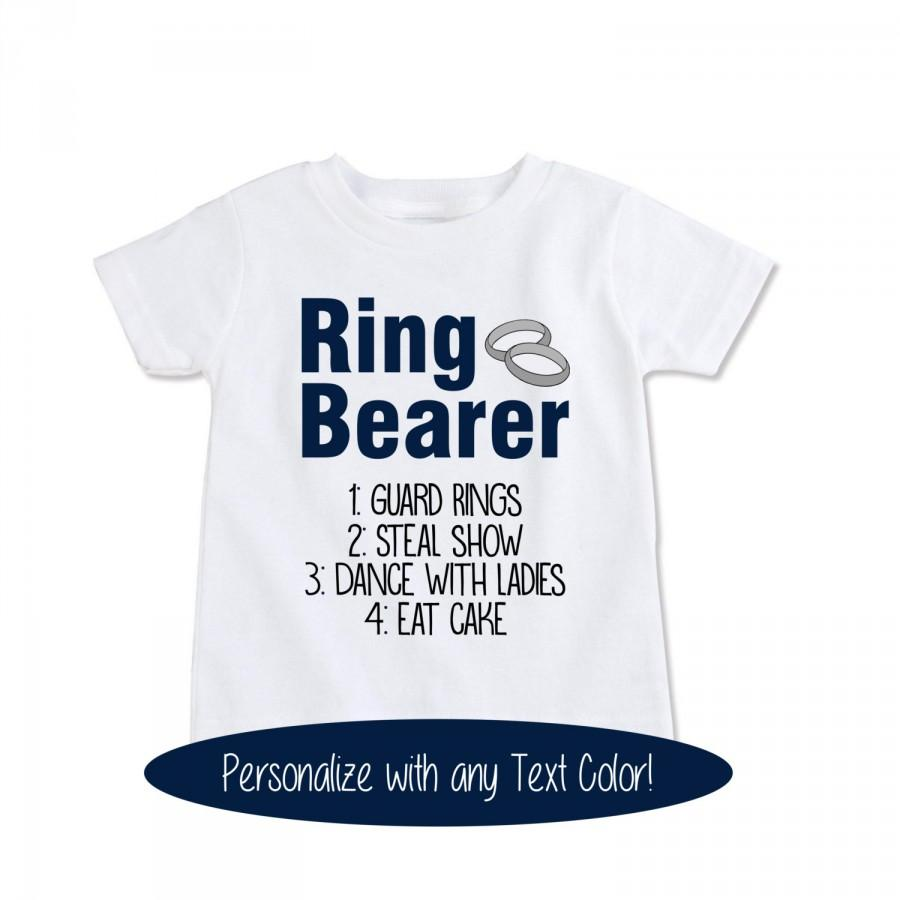 Mariage - Ring Bearer Gift Wedding Ring bearer Shirt RingBearer outfit Wedding Rehearsal shirt wedding rehearsal outfit ringbearer onesie... (EX 420)