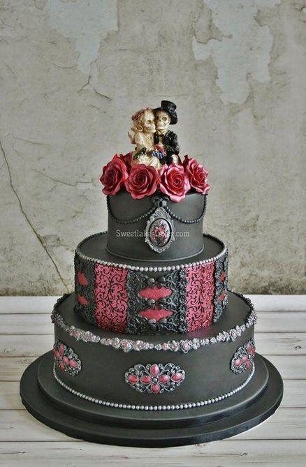 Cake Gothic Wedding Cake 2513401 Weddbook