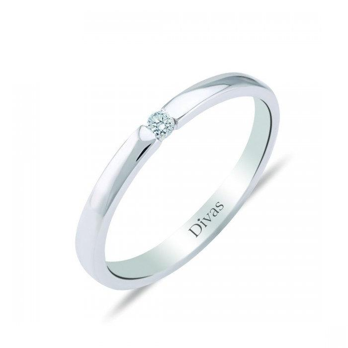 Mariage - Solitaire Engagement Ring 0,03 ct Diamond
