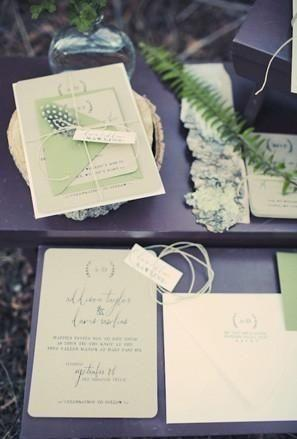Mariage - Woodsy Wedding Color Palettes