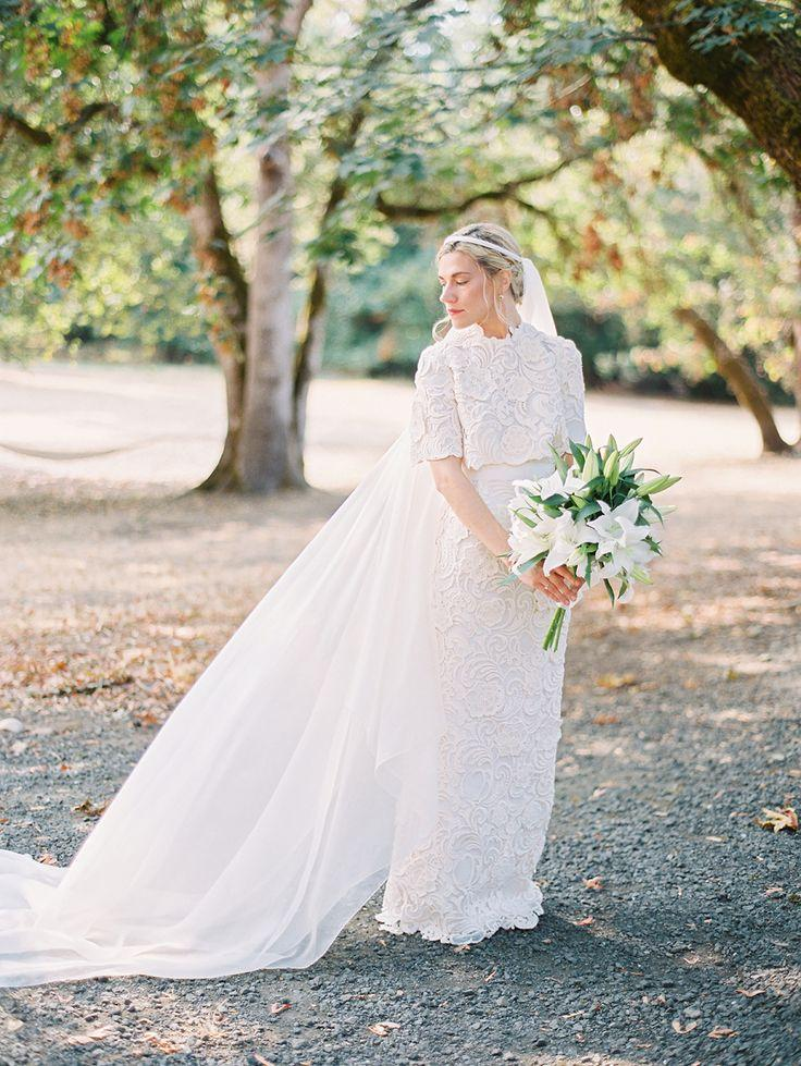 Hochzeit - This Bride Works For Prada, And Her Custom-Designed Dress Is BEYOND