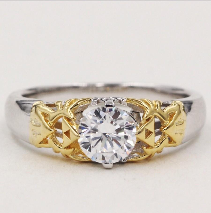 Zelda Triforce Engagement Ring Www Imgkid Com The
